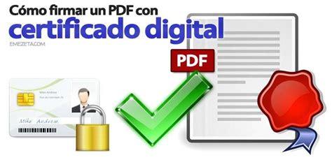 como agrupar imagenes a pdf c 243 mo firmar pdf con certificado digital emezeta com