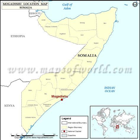 mogadishu on world map where is mogadishu location of mogadishu in somalia map