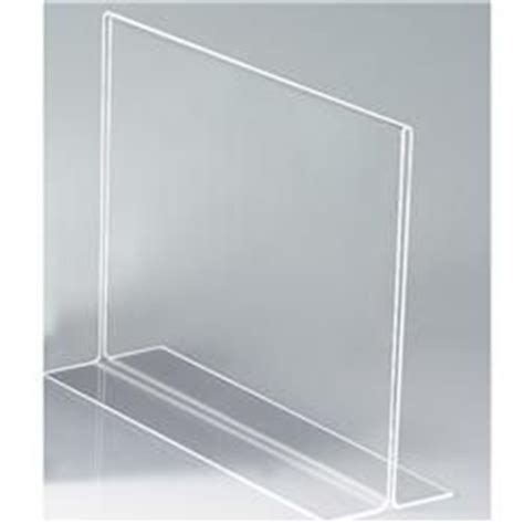 Display Acrylic A4 Horizontal acrylic sign holder provide a a4 size clear pocket place your message in between the panel to