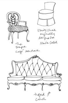 Sofa Sketches F U R by 1000 Images About How To Draw Furniture On