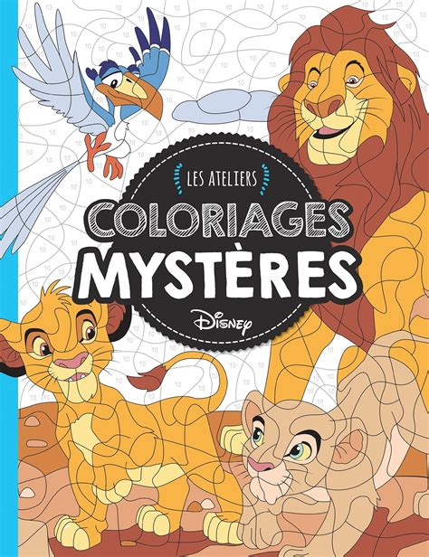 Amazon Fr Animaux Coloriages Myst Res Ateliers Disney