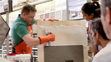 the home depot tv commercial spots its all about the ads the home depot tv commercial tilescapes ispot tv