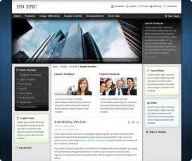 Templates For Joomla 3 by Template Jsn Epic For Joomla 2 5 And Joomla 3 0 Rizvn