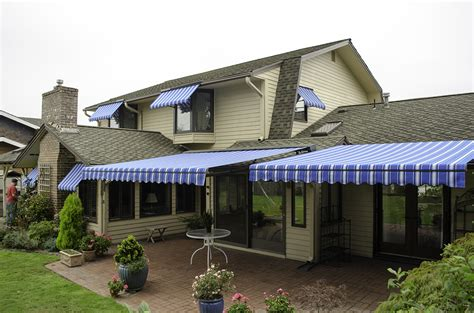 deck awning retractable deck awnings rainier shade
