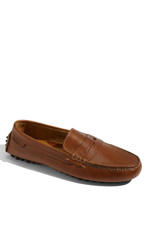 cole han loafers cole haan air grant driving loafer in brown for