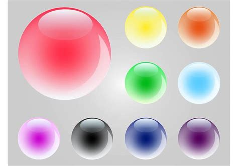 colorful marbles colorful marbles free vector stock