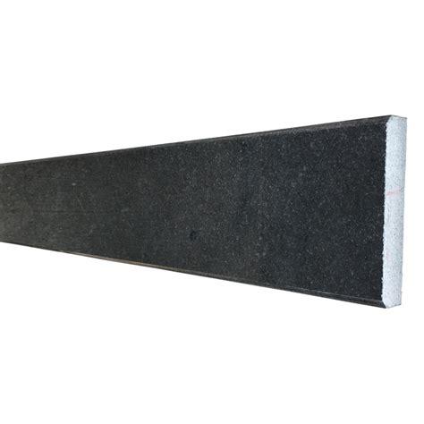 4 x 24 saddle threshold absolute black granite stone