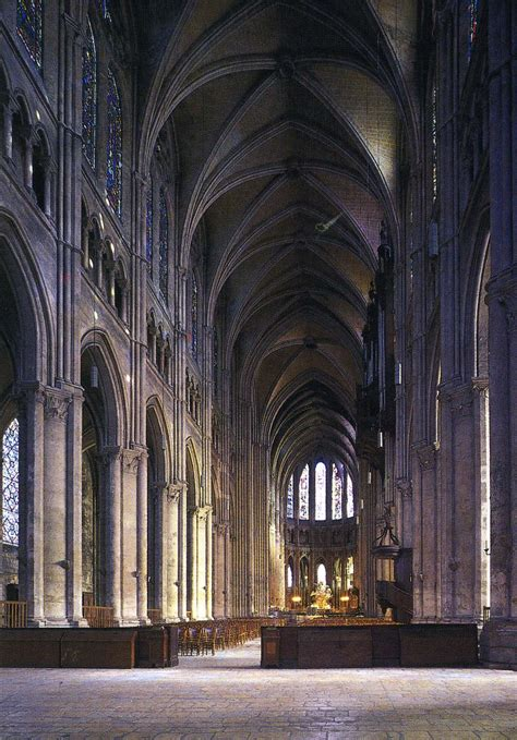 Chartres Cathedral Interior chartres cathedral historical facts and pictures the