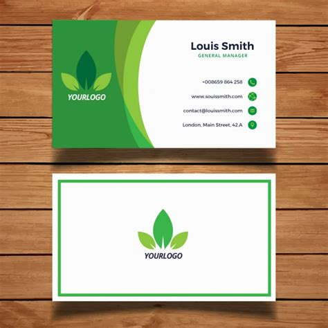 collections of pink green business cards page8