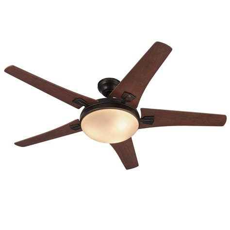 oiled bronze ceiling fan harbor breeze 48 in oil rubbed bronze indoor 5 blade