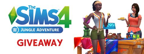 Sims 4 Giveaway - giveaway win the sims 4 jungle adventure simsvip