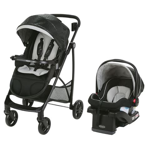 graco snugride car seat and stroller combo graco views stroller travel system with snugride 35 lx