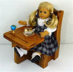 american doll furniture school desk 18 doll
