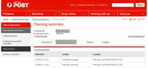 Aus Post Racking by Auspost Tracking Accepted From Customer