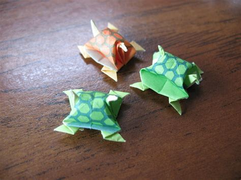 Miniature Origami - miniature origami turtles 183 how to fold an origami animal