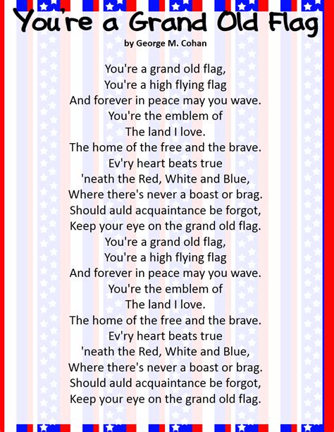 song in classroom freebies patriotic song freebies