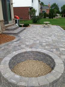 build pit on patio patio with built in pit outdoor spaces