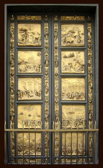 Door Works by Lorenzo Ghiberti
