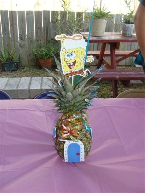 spongebob centerpiece decorations second birthday spongebob centerpiece stuff