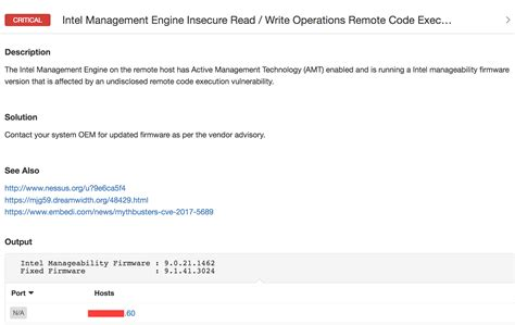 default nessus port intel amt vulnerability detection with nessus and pvs