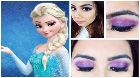 queen elsa makeup tutorial frozen queen elsa makeup tutorial youtube