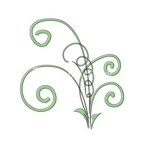 Decorative Flourish by Flourish Vector