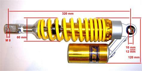 Motorrad Federbein Vergleichstest by Gasdruck Federbein Sto 223 D 196 Mpfer Verstellbar Rex Roller
