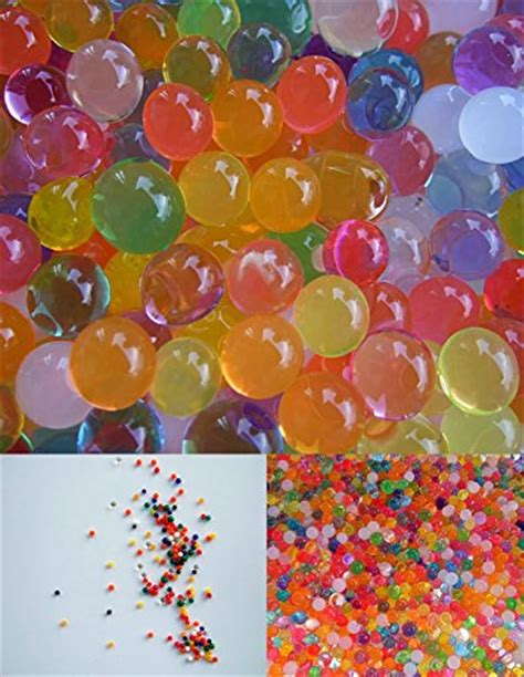 jellybeadz sensory water bead rainbow mix 1 ounce pack