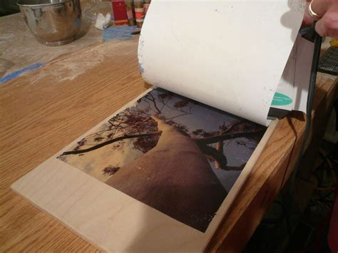 Wood Used To Make Paper - transfer photo images to wood using t shirt transfer paper