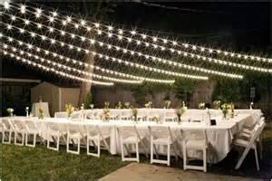 Backyard Wedding Lights 6 Wedding Venues For Rustic Country Wedding Ideas
