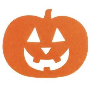 felties 174 jack o lantern pumpkin cutout felt squares