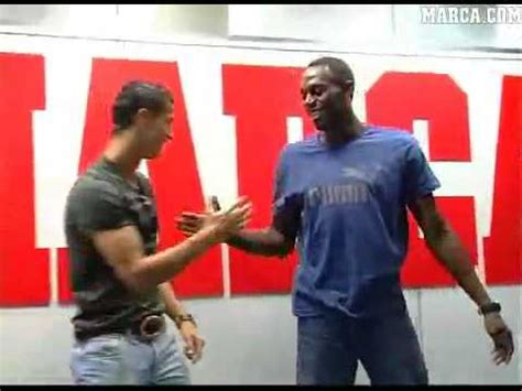 usain bolt weighs in on messi ronaldo and the ballon dor cristiano ronaldo and usain bolt we are the best youtube