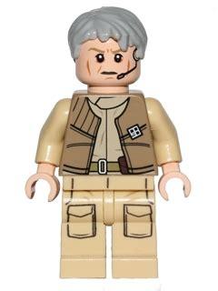 Lego Minifigure General Rieekan bricker lego sw557 general airen cracken 75050