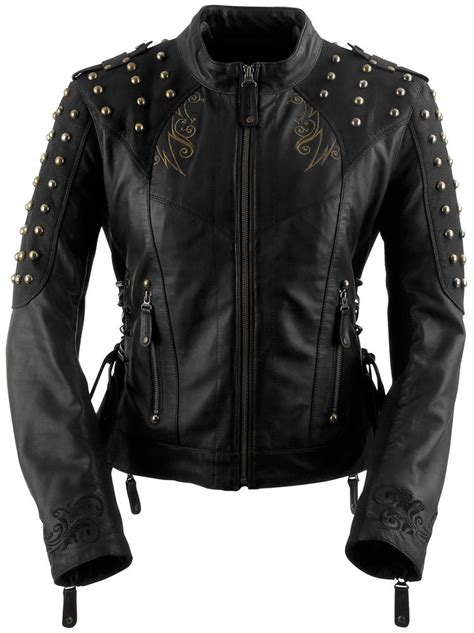discount motorcycle clothing 335 96 black brand womens mantra leather jacket 264730