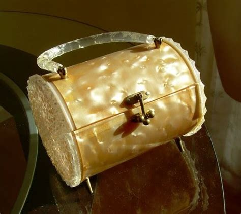 Mcclintocks Marbled Lucite Clutch The Bag by 203 Best Images About Vintage Lucite Bakelite Bags On