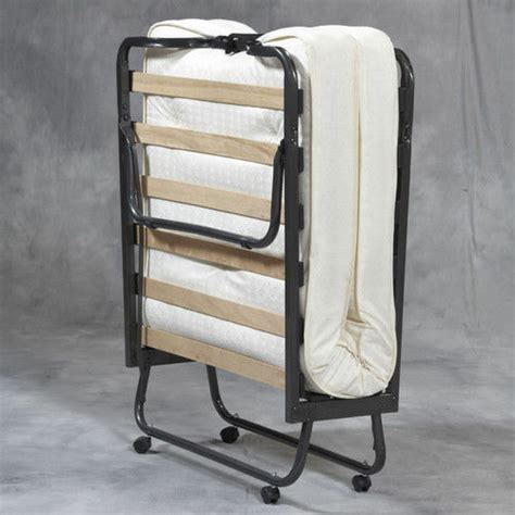 folding bed memory foam mattress roll away guest portable sleeper air ebay