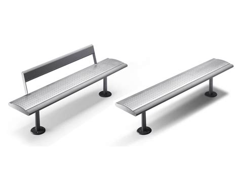 contemporary bench with back contemporary style stainless steel bench with back gea by