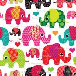 cute kid pattern cute retro kids elephant pattern fabric fabric