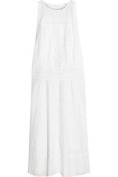 j crew pardi broderie anglaise trimmed cotton and silk