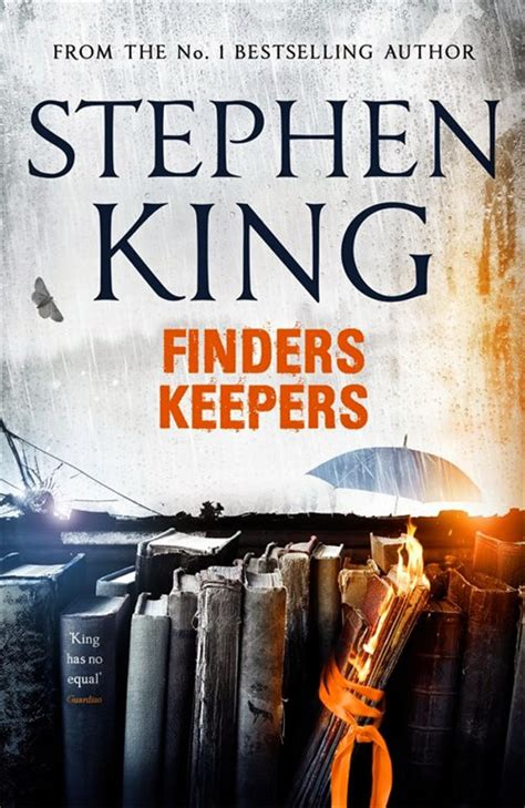 finders keepers finders keepers by stephen king got a cool cover for its uk edition update us cover now