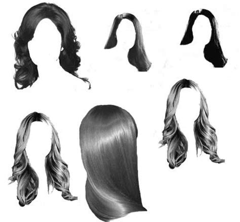 Hairstyle Photoshop Free by Hair Photoshop Brushes 200 Fabulous Styles To