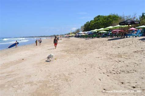 lounge chairs legian beach kuta bali travelfooddrinkcom