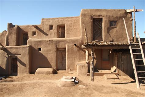 pueblo adobe homes american adobe dwellings casesmaster