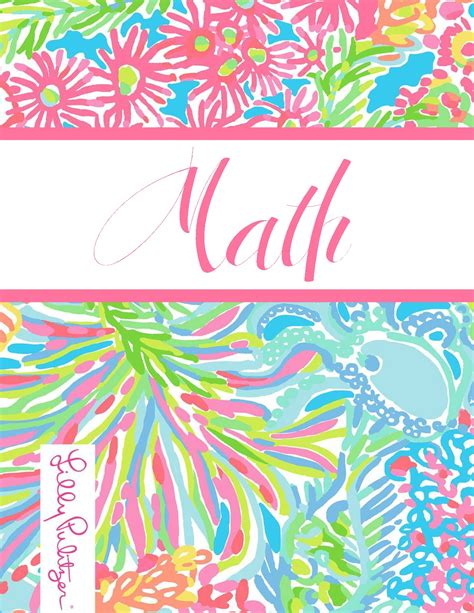 lilly pulitzer binder templates the preppy ballerina preppy goes back to school a fourth