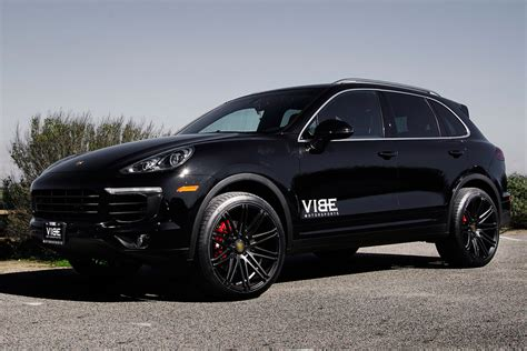 porsche black wheels porsche cayenne s on 22 quot xo milan wheels