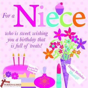 Happy Birthday Wishes For A Niece Bhatiji Greeting Card Niece Bhatiji Birthday Card Asian