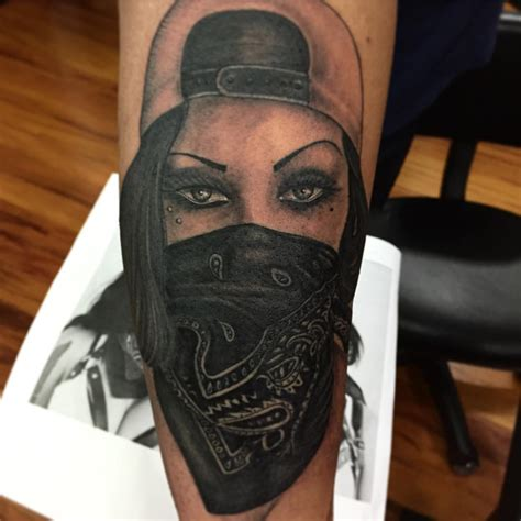 gangster tattoo on instagram