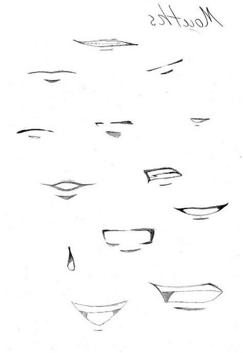 Anime Nose by Anime Nose Sketch Anime Mouths