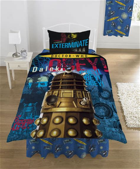 doctor who bedding lots of doctor who bedding in stock now