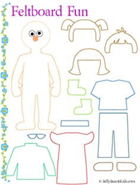 Felt Board Clothes Template Many More Too Like Lady Bug Counting Ice Cream Cone Colors Etc Felt Shapes Templates
